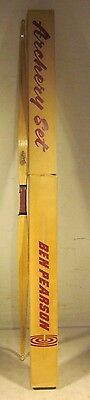 Vintage Ben Pearson Cock Robin Recurve Bow With Box Youth Archery USA