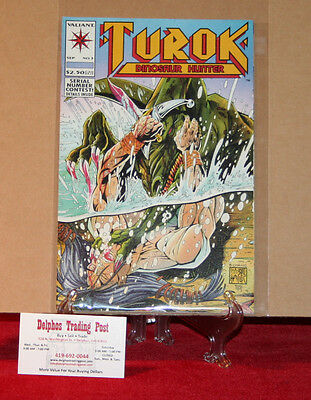 Valiant Comics - Turok, Dinosaur Hunter Vol.1 #3 Sept. 1993
