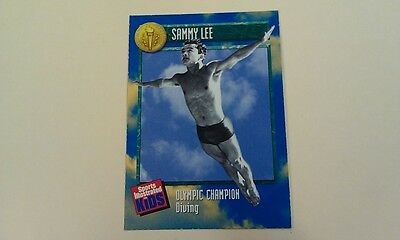 Sammy Lee #491 Rookie Diver Sports Illustrated for Kids SI For Kids Olympics