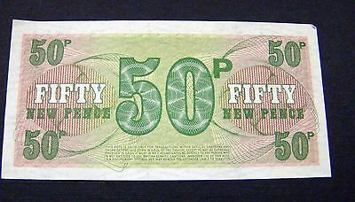 British Armed Forces 50p voucher (6th Series)