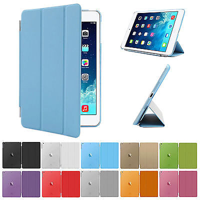 New Smart Stand Magnetic Leather Case Cover For APPLE iPad Cases
