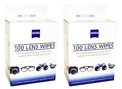 Zeiss Lens 200 Cleaning Wipes Screen Photo Camera Lenses Digital Eyeglass Screen