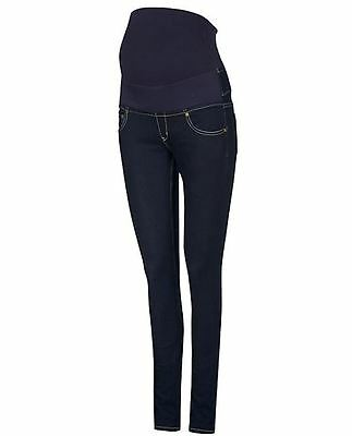 Isabella Oliver Overbump Zadie Maternity Skinny Indigo Jeans Size 14 RRP £95