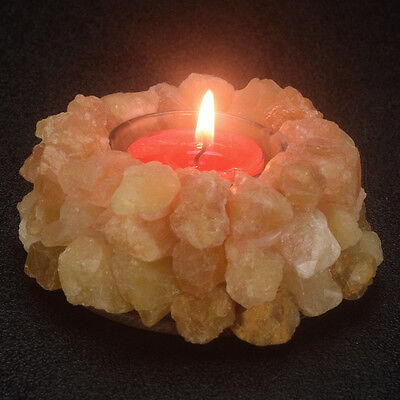 Citrines Point Tea Light Holder Gemstone Crystal Healing Thearpy Candle Holder