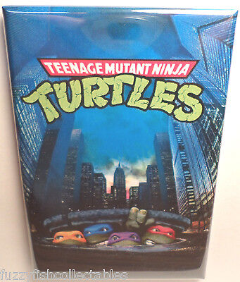 "TMNT Teenage Mutant Ninja Turtles Sewer 2""x3"" Fridge Locker MAGNET"