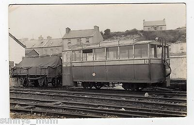 Ireland, County Donegal Railway, Rail Motor Trailer And Luggage Truck, Rp