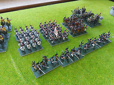 1/72 Painted Napoleonic Spanish infantry and cavalry