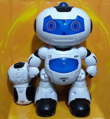 New Children Kids Electronic R/C Robot Light Music Boys Girls Toy UK Stock