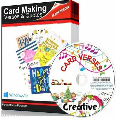 (MD234)OVER 5000 VERSES FOR CARDS Verses and Quotes for Card Making & Decoupage