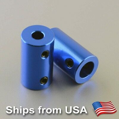 2 PCS x Rigid Shaft Coupler 5mm To 8mm for Reprap Prusa 3D printers, CNC Routers