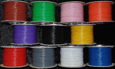 DCC Decoder Scenery Wire 10/0.1 PVC Coated Assorted Colours 5 Metres Multi Packs