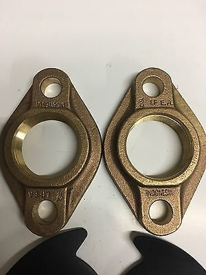 "2"" Lead-free Brass Meter Flange Kit"