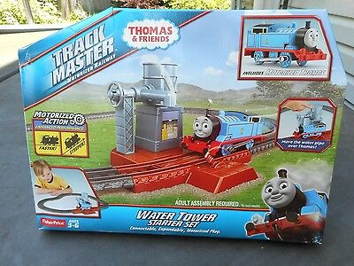 Thomas & Friends TRACK MASTER Water Tower Starter Set New in Damaged Packaging M