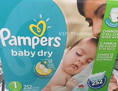 Pampers Baby Dry Diapers Size-1 Economy...