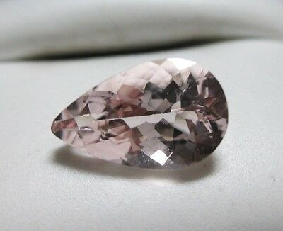 Super Clean 2.55ct Natural Pear Shape Morganite