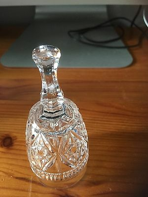 Crystal Glass Bell Shaped Ornament