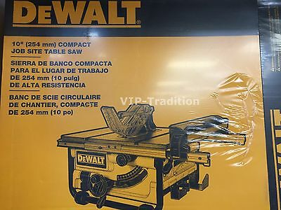 DEWALT DWE7480 10-Inch Compact Job Site Table Saw with Site-Pro Modular Guard $3