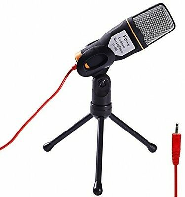 Fifine Professional Condenser Sound Microphone With Stand For Pc Laptop Skype