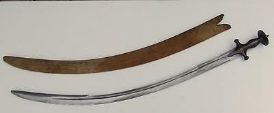 Antique 17th Century Polish Poland Sword Blade with Indo Persian Talwar Hilt