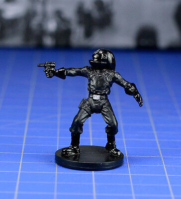 Star Wars miniatures minis Dark Times Imperial Engineer #18 & card WOTC
