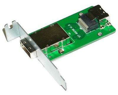 NORCO C-8087-8088L 1-Port SFF-8087 to SFF-8088 Adapter with Low Profile Mounting