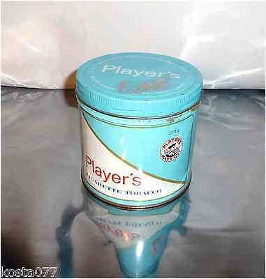 Vintage 60's / 70's Tin Can, 200g Player's NAVY CUT Cigarette Tobacco Canister