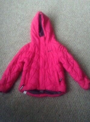 Bench Kids Pink Padded Quilted Coat Age 3-4. Great Condition.
