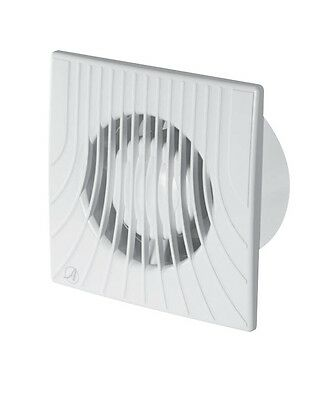 "Extractor Fan with Backdraft Shutter 100mm 4"" 120mm 4.7"" 150mm 6"" Ventilator WAZ"