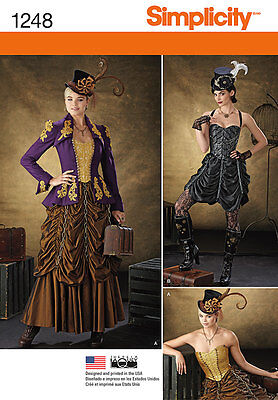 Sewing Pattern Steampunk (4) Size 32-38