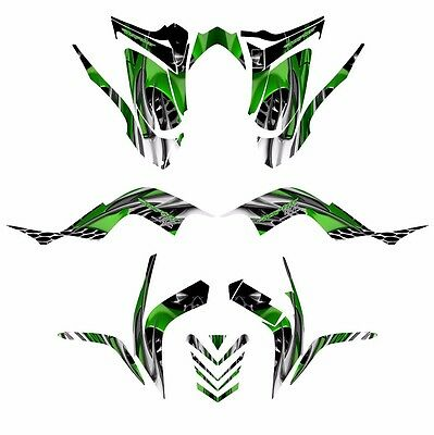 raptor 700 graphics 2006 2007 2008 2009 2010 2011 2012 deco kit no2500 blue cad 225 61