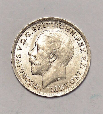 1919 Threepence Maundy 3D  George V   #174-32