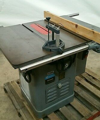 Delta rockwell 34 395 14 tilting arbor saw table saw for 10 inch delta table saw