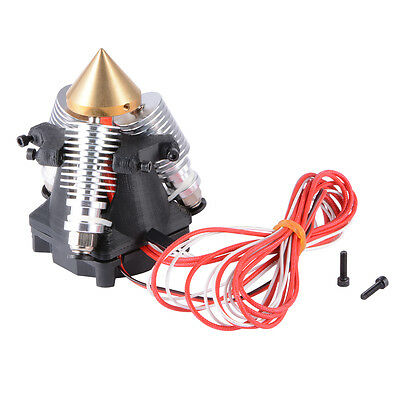 3 in 1 Out Multi-Color Extruder Hotend with Cool Fan for Reprap 3D Printer TE603