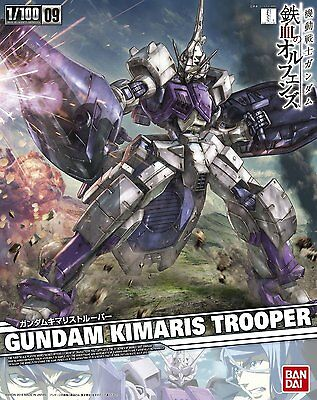 BANDAI NG Iron-Blooded Orphans 1/100 Gundam Kimaris Trooper scale kit New Japan