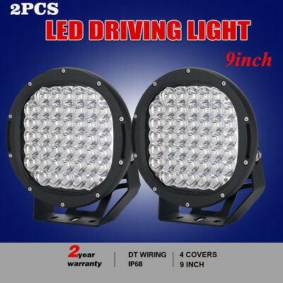 9inch 26100W CREE LED ROUND Driving Spotlights black Work Offroad truck 4x4 HID