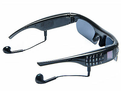 Bluetooth 4.1 Stereo MP3 Smart Glasses Video Recorder Camera Phone Call Sports