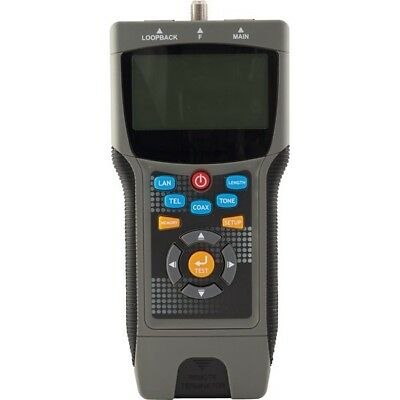 Doss LCT8 Pro Coax & Lan Cable Tester Locates Distance to the Fault/Coaxial/Wire