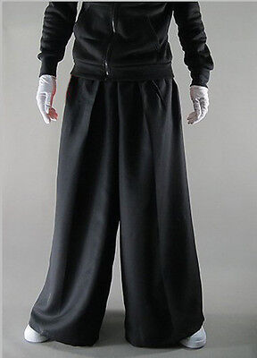 New Men's Melbourne Shuffle Dance Wear Pants Casual Trousers Black Unisex  S-XXL