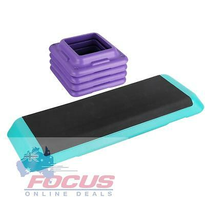 Aerobic Gym Workout Exercise Step Purple Green