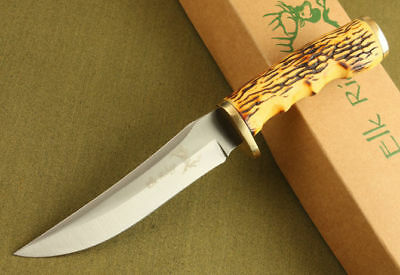 Elk Ridge Fixed Blade Survival Bowie Camping Hunting KNIFE