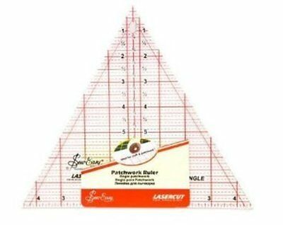 Sew Easy Triangle Ruler - 12in/ 60 degree