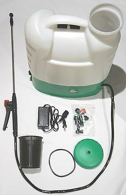 4 Gallon Poly Tank Cordless Battery Powered Electric Backpack