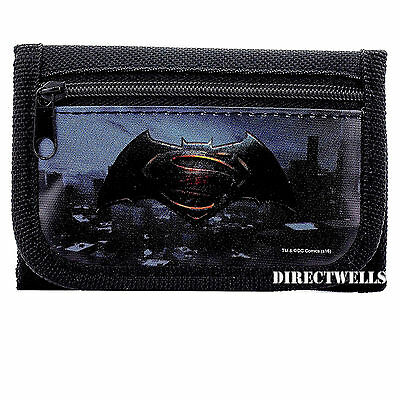Batman Vs Superman Black Wallet
