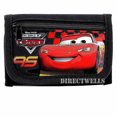 Disney Car Black Wallet