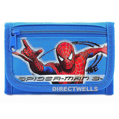 Spiderman Blue Wallet