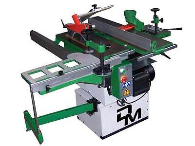 Woodworking Machine 5 Operation With Jointer/Planer 260 Mm Wide