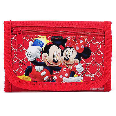 Disney Minnie Mouse Red Wallet