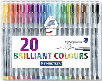 Rotuladores Staedtler Triplus Fineliner 20 Unidades