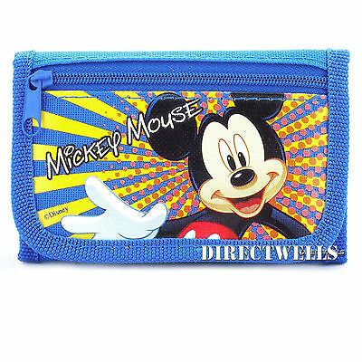 Disney Mickey Mouse Blue Wallet