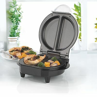 Salter Aluminum Cool Touch Non-Stick Health Grill Pancake Omelette Chicken Maker